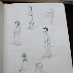 TracyBishopKarateSketch15