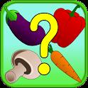 Veggie Memory & Matching Game icon