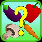 Veggie Memory & Matching Game