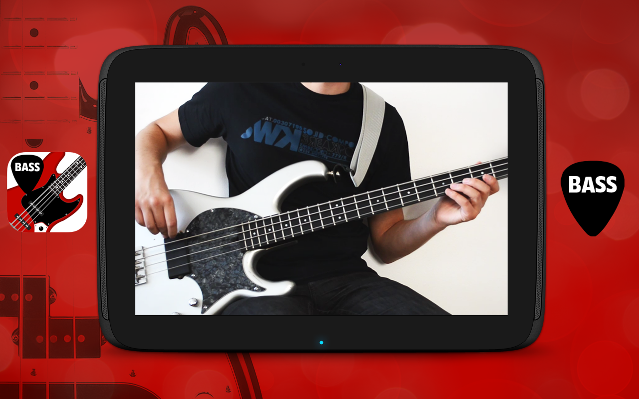 Bass lessons newbie VIDEO LITE- screenshot
