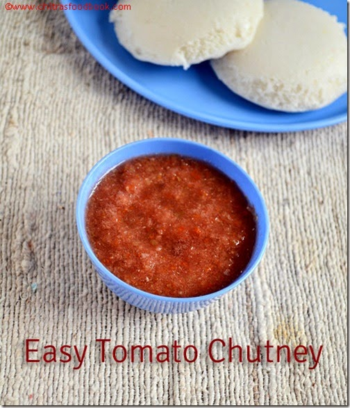 Easy tomato chutney recipe