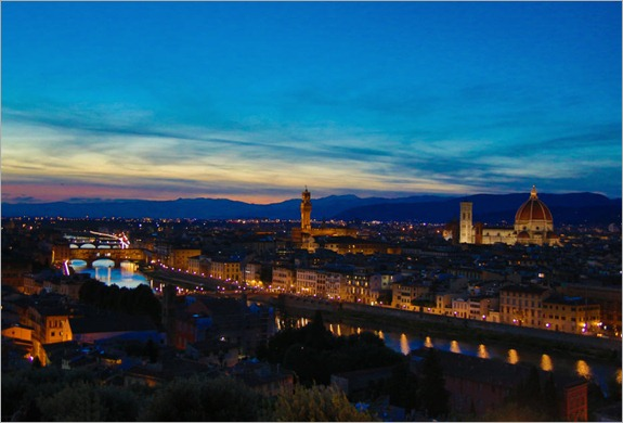 Florence Sunset1