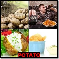 POTATO- 4 Pics 1 Word Answers 3 Letters