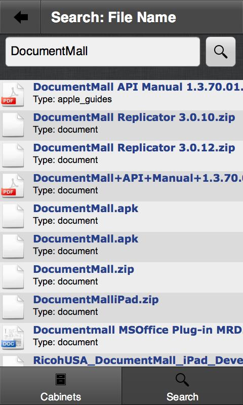 DocumentMall- screenshot