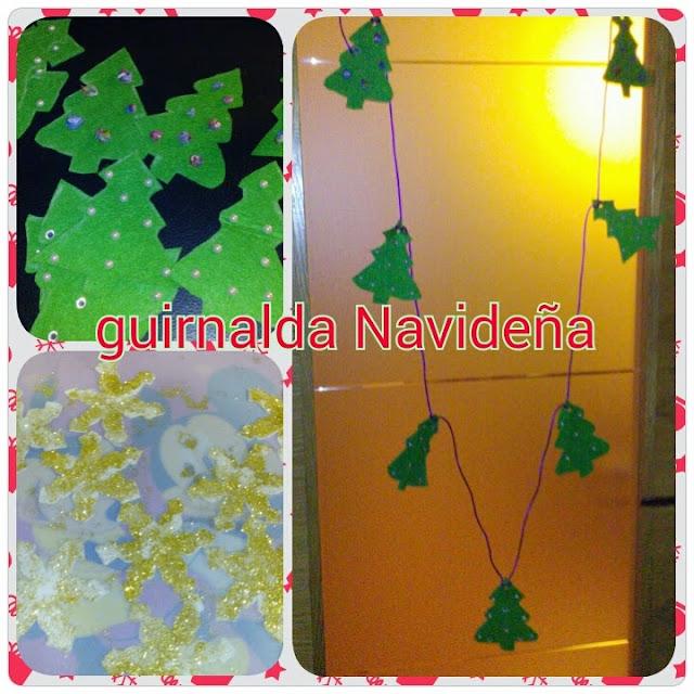 Cristina en casa guirnaldas navide as para puertas o ventanas for Guirnaldas navidenas para puertas y ventanas