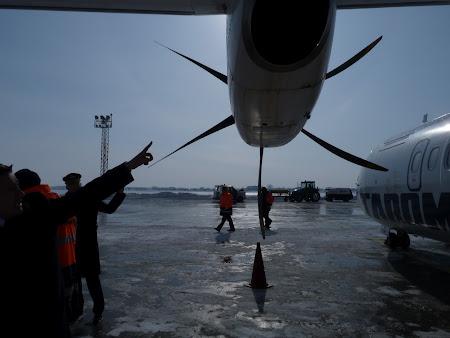 Avionul, la control !