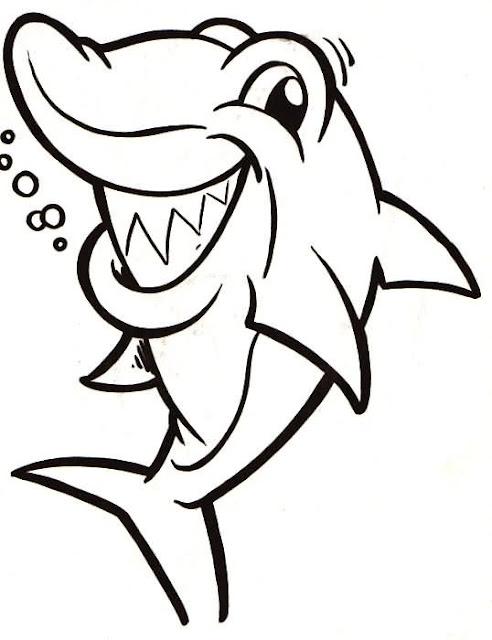 Tiburon Para Pintar