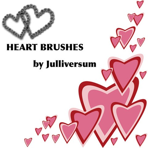 HIGH-RES-Heart-Brushes