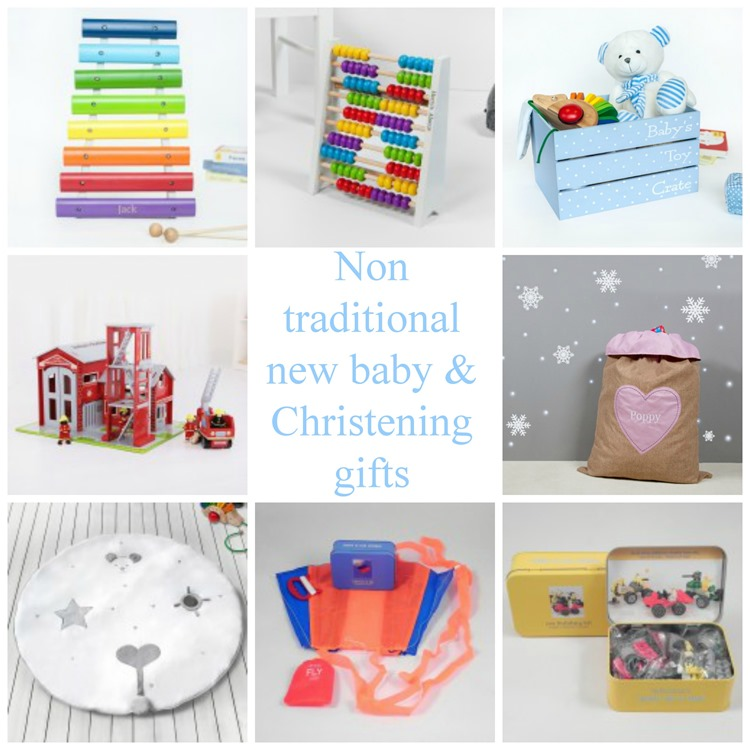 Non tradtional new baby and christening gifts from 1styears