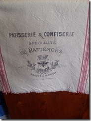 French Kitchen Towel Fringe