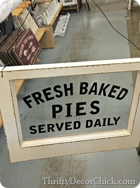 baked pie sign world market