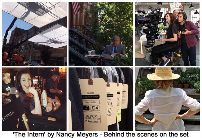 The Intern - Behind the scenes of the set