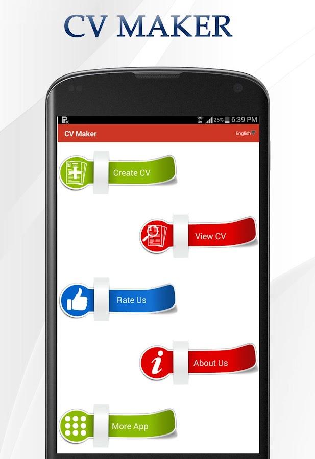 cv maker fullversion screenshot - Cv Maker App