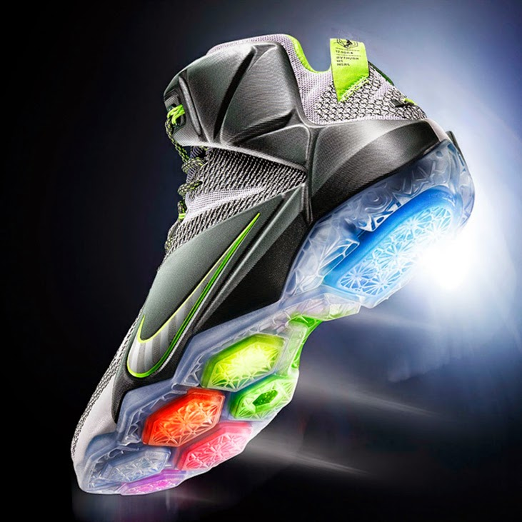 8278cedadd9 Release Reminder Nike LeBron XII 8220Dunk Force8221 ...