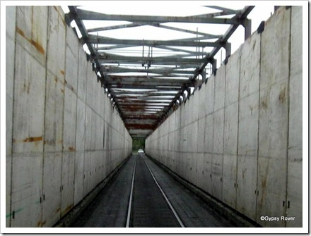 Believe it or not this is a road/rail bridge