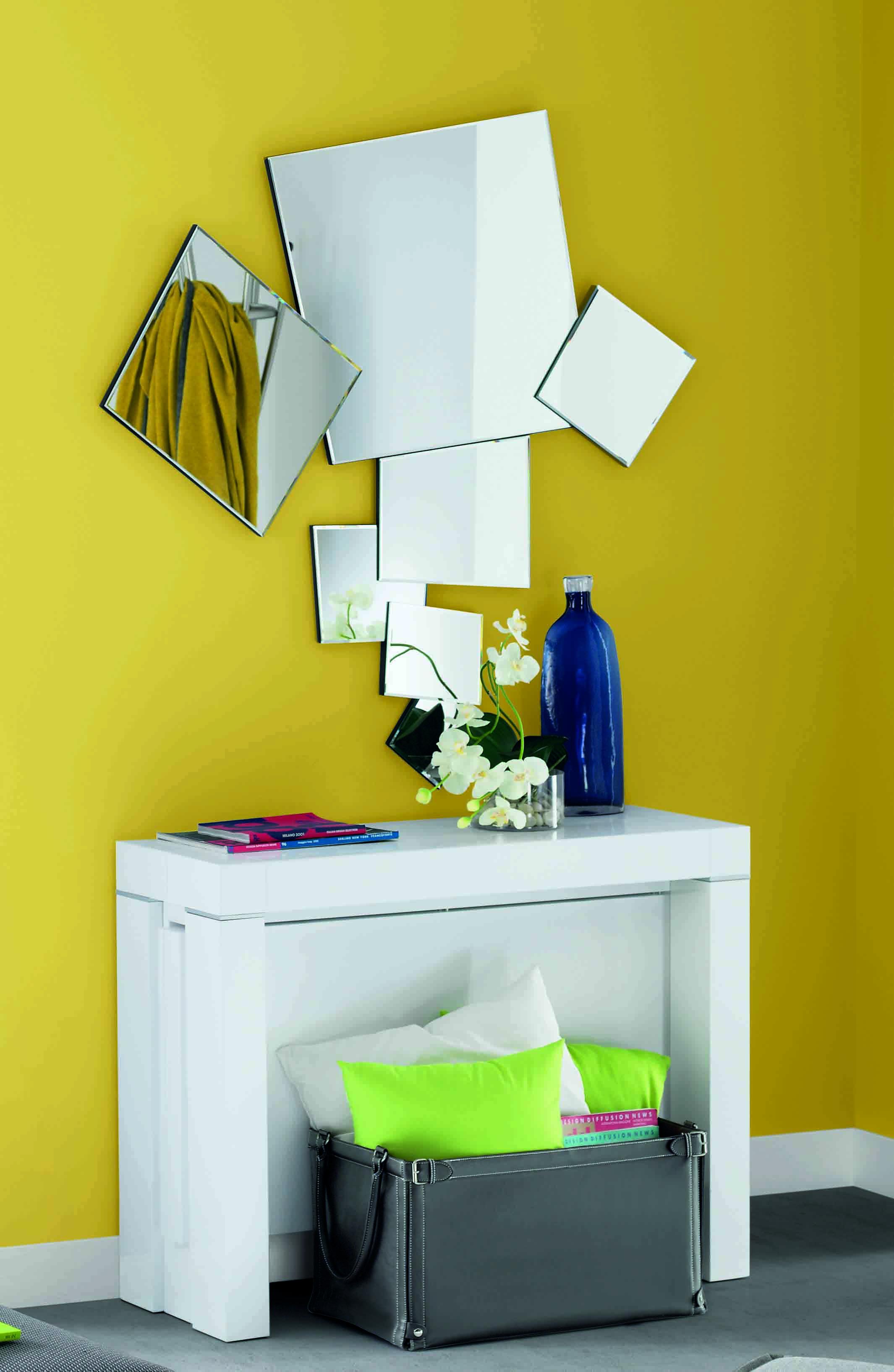 Recibidores Con Espejos Una Buena Idea De Decoraci N  # Muebles Kibuc Ulla