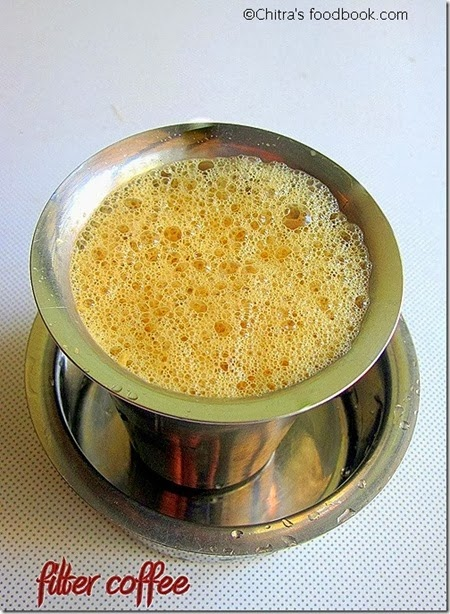 Southindian filter coffee