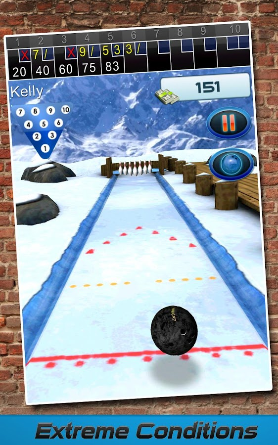 Let's Bowl 2: Bowling Free - screenshot