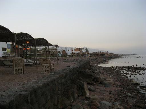 The beach at Dahab