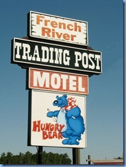7696 Ontario, French River Trans-Canada Hwy 69 - Trading Post, Motel, Restaurant