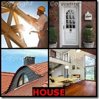 HOUSE- 4 Pics 1 Word Answers 3 Letters