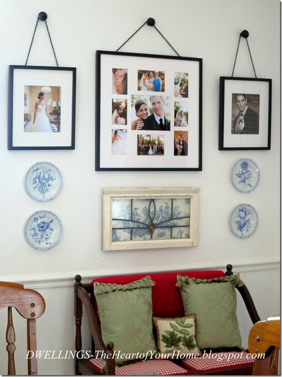 Pottery Barn Picture Wall And A Bit Of Wrestling Dwellings The