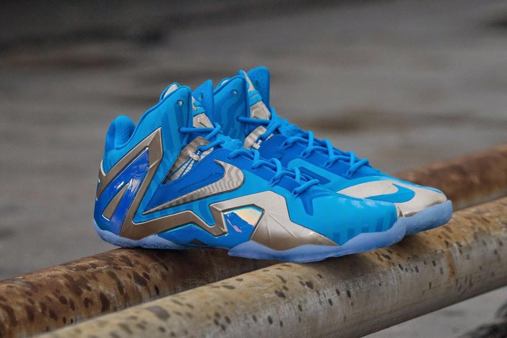 the latest 85da1 da00e ... Release Reminder Nike LeBron 11 Maison Collection ...