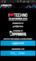 Screenshot of I Love Techno