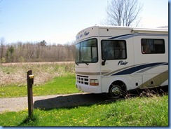 IMG_4323 Bronte Creek Provincial Park our motorhome in our campsite #219