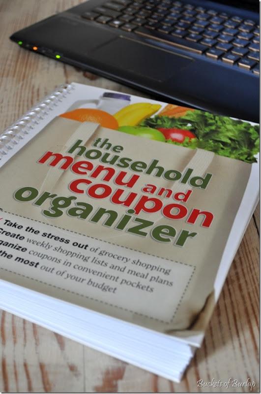 kitchen-menu organizer