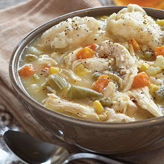 Chicken and Dumplin Soup.