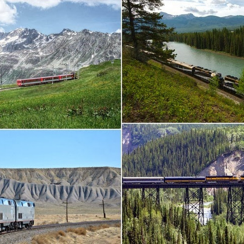 8 of the Most Scenic Train Routes