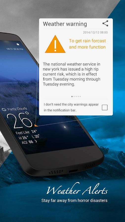 GO Weather Forecast & Widgets- tangkapan layar