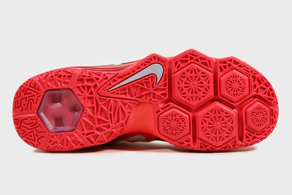 ec62bd1ace14a ... 8220All Over Red8221 Nike LeBron 12 Low is Available at Eastbay