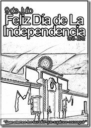 Historia Argentina, Independencia -cartel 2012 -1_cartoon