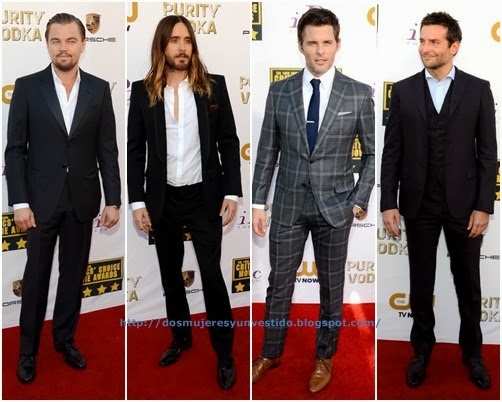 Critics Choice Movie Awards-men