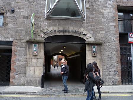 Obiective turistice Dublin: intrare distilerie