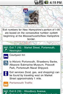 I-95 Exit Guide - screenshot thumbnail