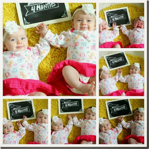 twins 4 months