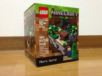 LEGO: 21102 MINDCRAFTを組みました