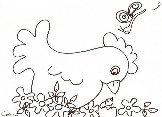 Dibujos Infantiles Para Colorear Con La Letra G