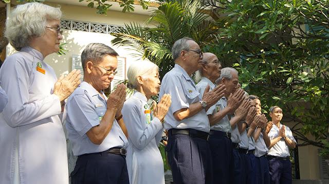 DSC06304 Lễ Hiệp kỵ   Lễ Huý Nhật Cư sĩ Sáng lập viên GĐPT Việt Nam   Tâm Minh Lê Đình Thám