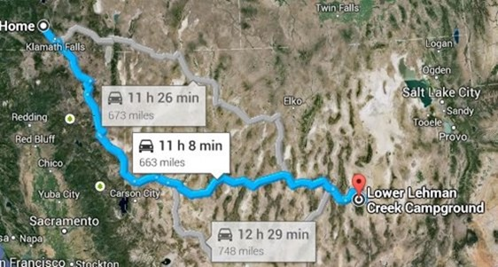 great basin route
