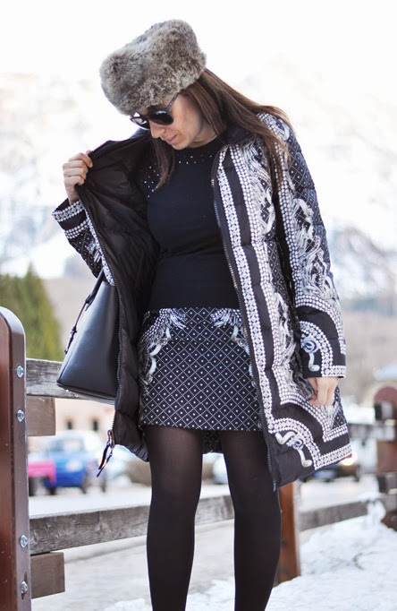 outfit, cortina d'ampezzo social shooting, total look seventy, italian fashion bloggers, fashion bloggers, street style, zagufashion, valentina coco, i migliori fashion blogger italiani