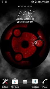 Sharingan Live Wallpaper - screenshot thumbnail