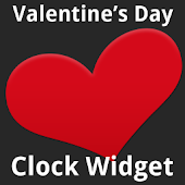 Valentine's Day Clock Widget