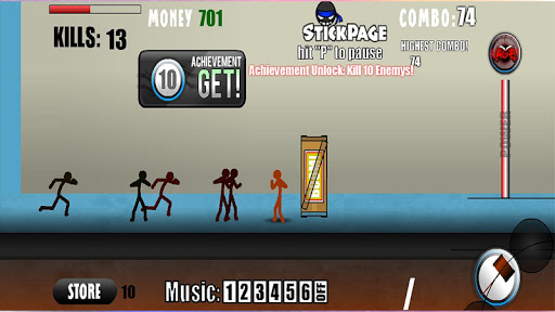Stickman Fighter - Combat Zone