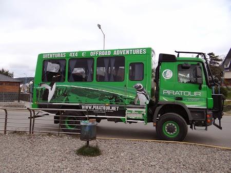 Tara de Foc: Camion Piratour
