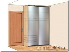 проект шкафа с зеркалом