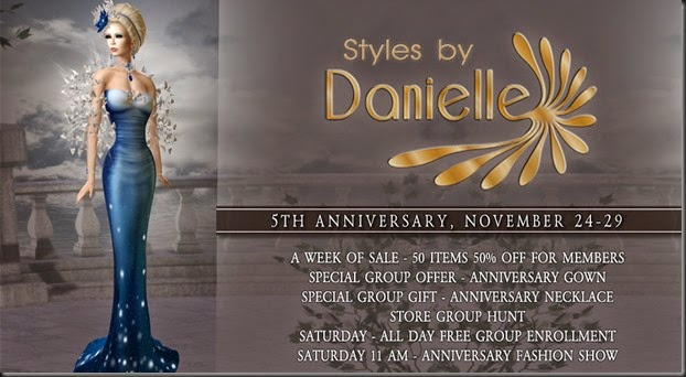 Danielel 5th Anniversary Banner